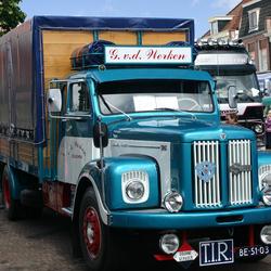 Oldtimer vrachtauto Scania