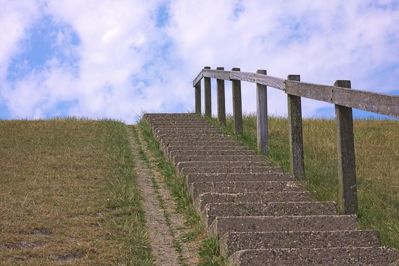 Trap naar het Wad - trap naar het Wad
