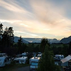 Camping zicht