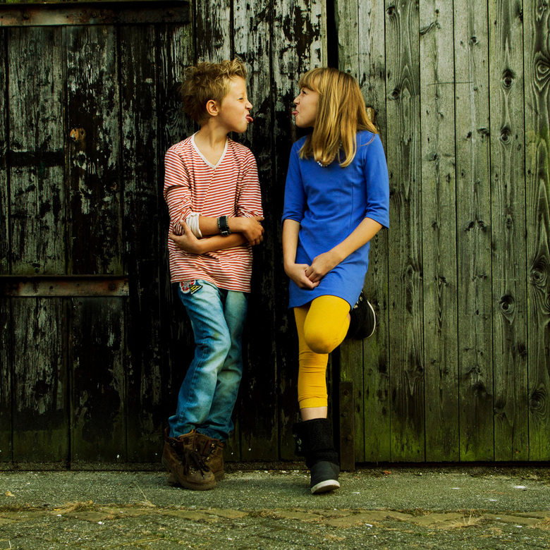 Family love .. - Met Caroline en Oscar<br /> <br /> Urban shoot