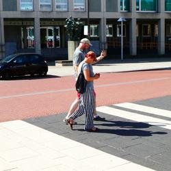mobile wandeling