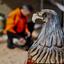 wooden eagle