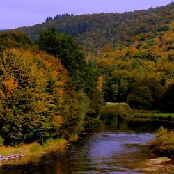 Landschapsfoto van de Ardennen