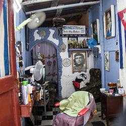 barbier in Cuba