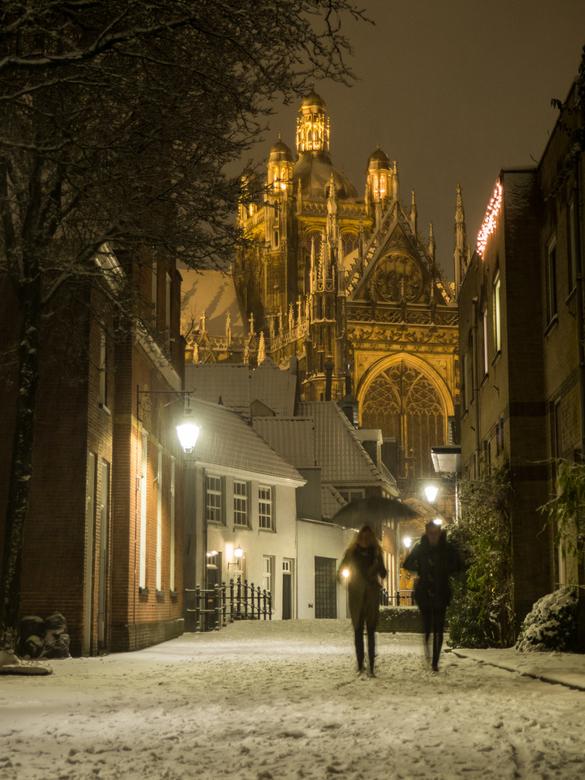 Winterwonderland - Weet je nog die dag afgelopen december dat het zo sneeuwde? Wat was het mooi, wat was het stil, zelfs midden in het centrum van &#0