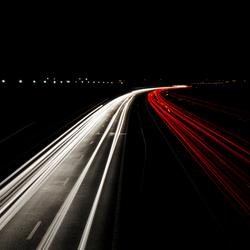 A28 bij nacht