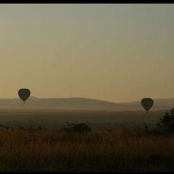 Balonvaren in de Masai Mara