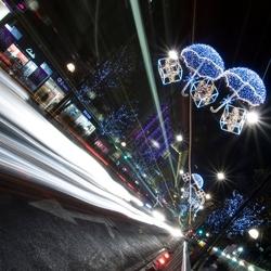 Londen Oxford Street By Night