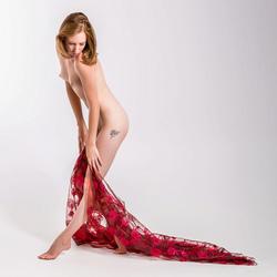 Lottie with diaphanous cloth