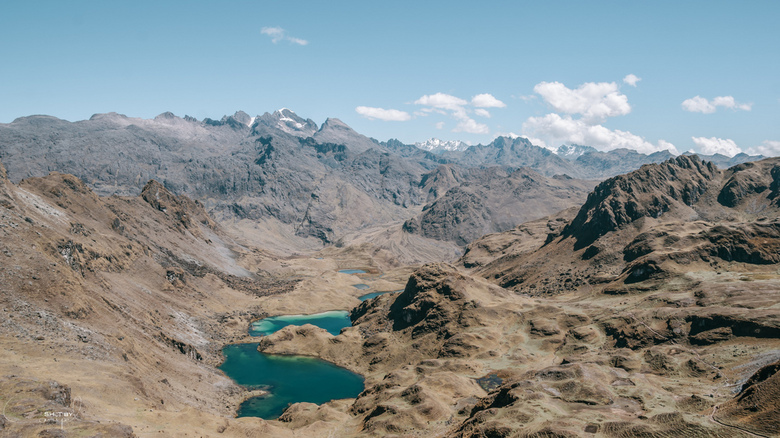 Heart of the Andes - Prachtig uitzicht over de Andes.<br /> Ik had deze al eens eerder gepost, deze is iets lichter en krijg er niet genoeg van <img