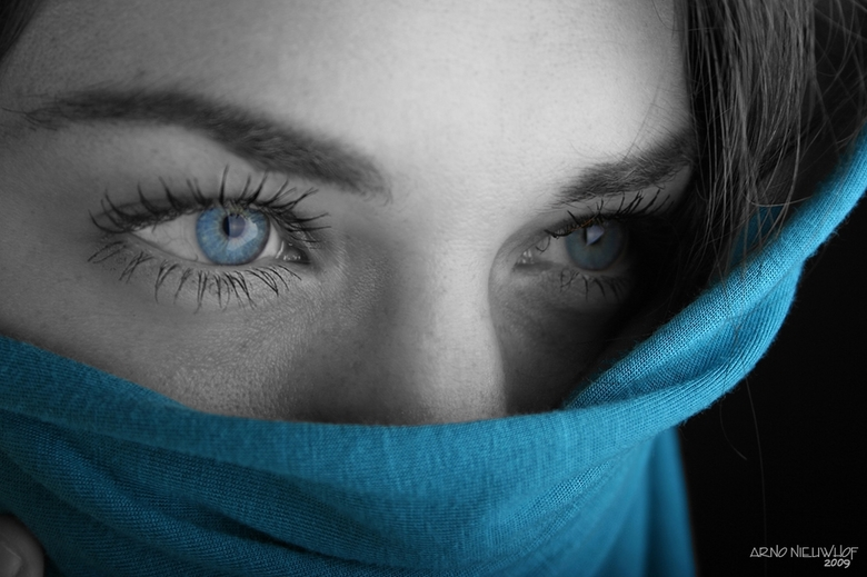 Blue Eyes - Model: Charlotte