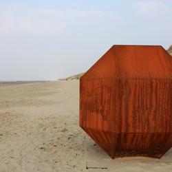 Kunst op het strand
