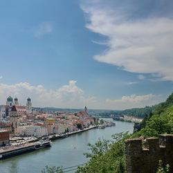 Langs de Donau.