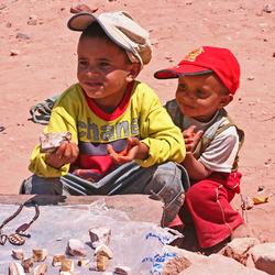 Nomaden kinderen