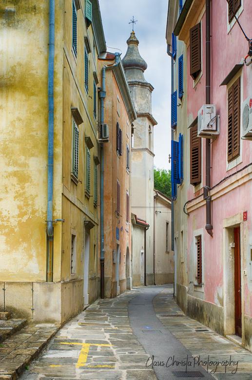Steegje - Izola Slovenia old town