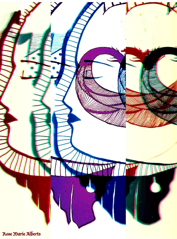 faces…..