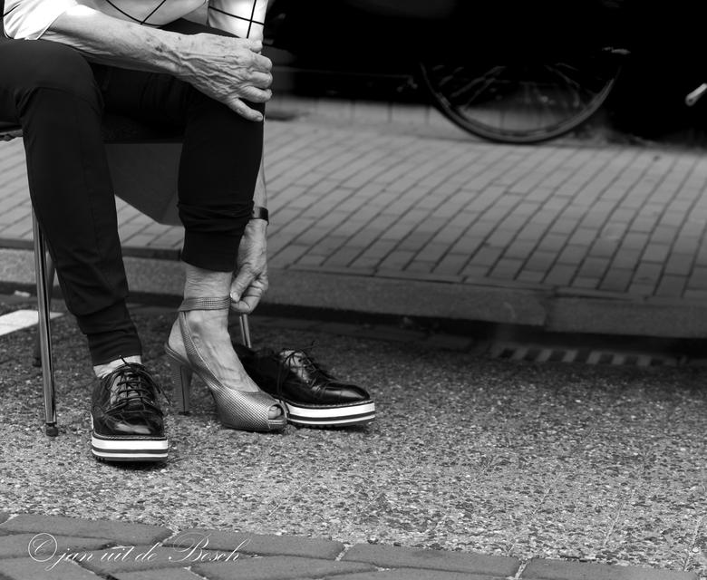 nieuw schoenen