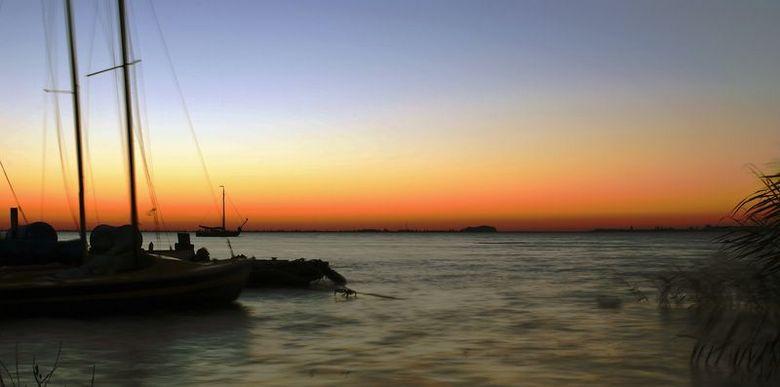 zons opkomst  - 5 uur 50 in de ochtend