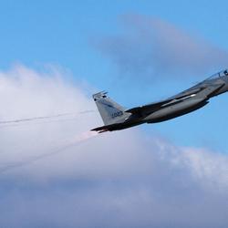 F-15 take off