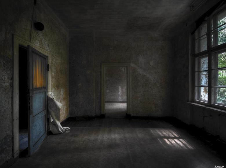 Blue door -