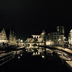 Het mooie Gent bij nacht