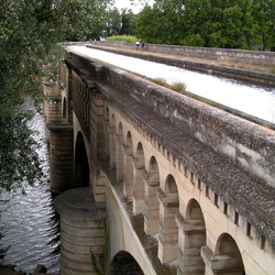 Le Pont Canal bij Béziers