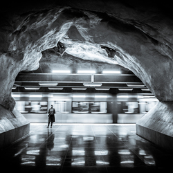 Stockholm - Metro - Moving train - JvH Clickz-1-2