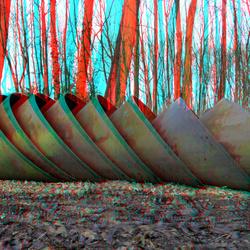 Drechtoevers Sculpture Park Zwijndrecht 3D