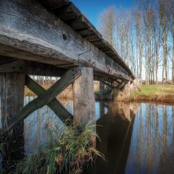 Romeinse brug van de andere kant