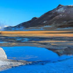Namafjall hot and cold