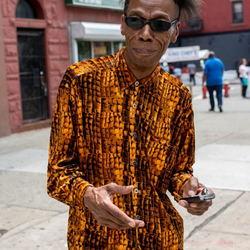 kleurrijk Harlem, NYC
