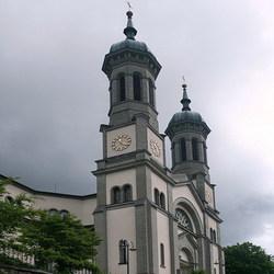 Kerk in Todtnau.