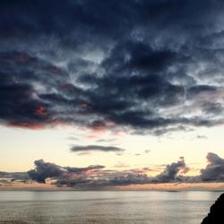 Sunset Praia da Calheta Madeira