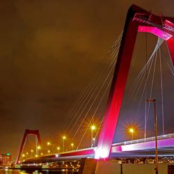 Willemsbrug - Rotterdam (bewerking)