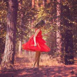 Dansen in het bos