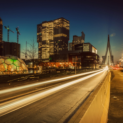 Rotterdam in volle glorie
