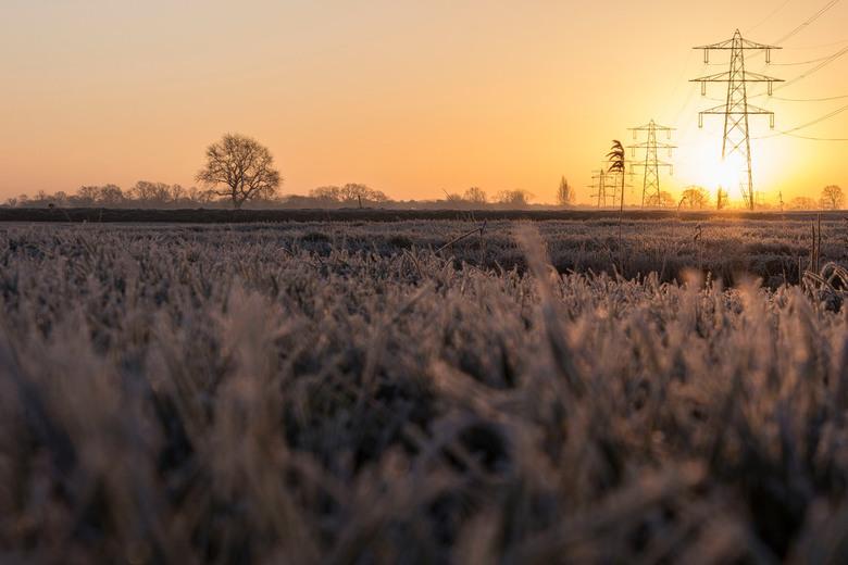 Zonsopkomst in Brabant - Zonsopkomst