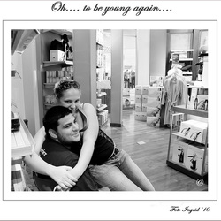 liefde is.....O, to be young again....