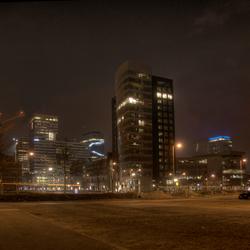 Zuidas by night