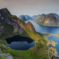 Reinebringen, Lofoten, Noorwegen