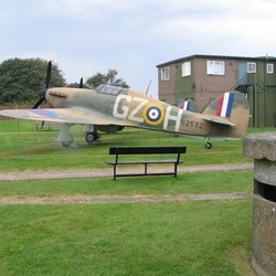 airfield Hawkinge GB