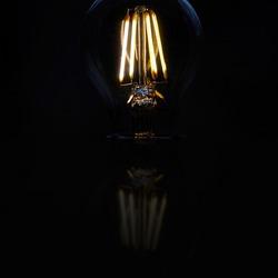 Hier brandt de lamp ...