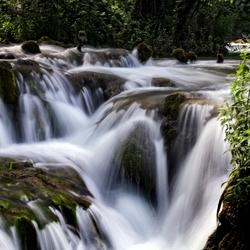 Waterval Natuurgebied . Krka.