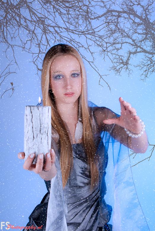Cold as Ice - Bewerking van de shoot gisteren