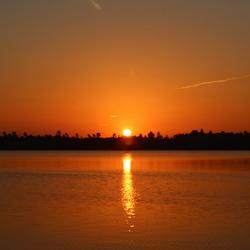 zonsopgang Reindersmeer