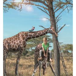 Having fun in Tanzania