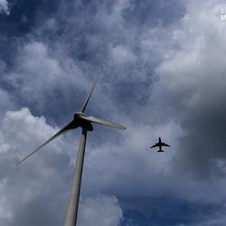 Wind Turbine meets Plane