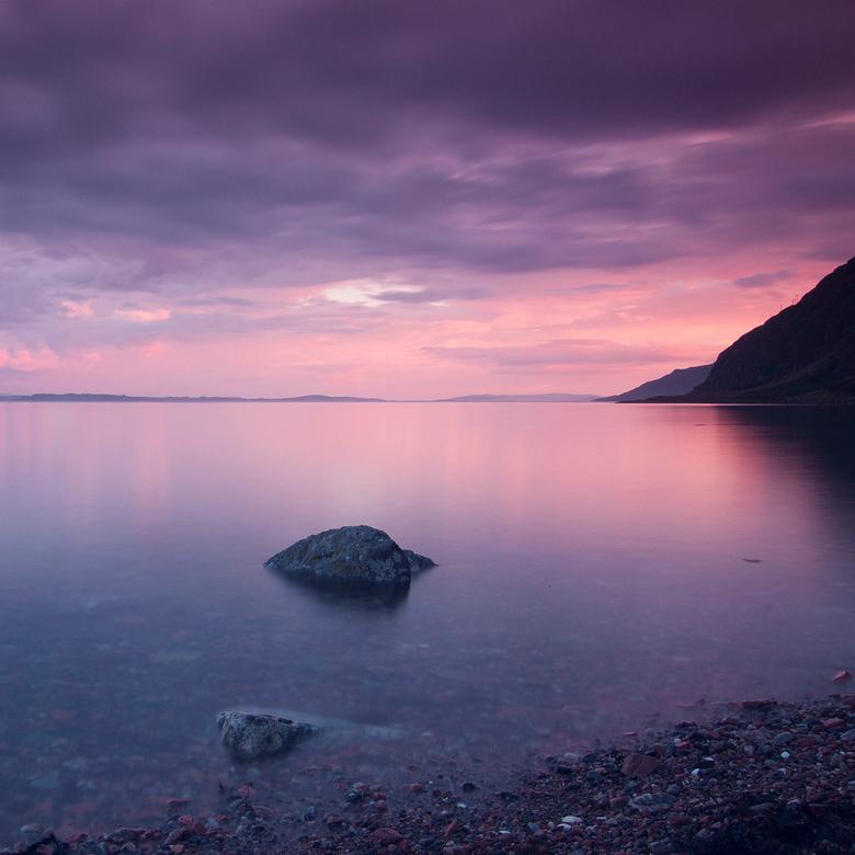 Loch Linnhe - Opname van Loch Linnhe vanuit Kilmalieu in Schotland. Gemaakt tijdens mijn vakantie, in juli van dit jaar. Sluitertijd van ongeveer 1,5