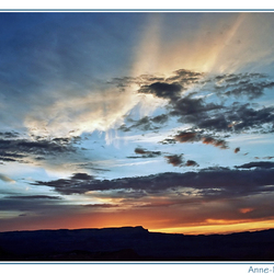 Sunset over Brice Canyon - 2