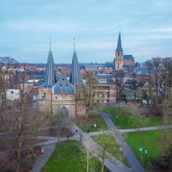 Cellebroederspoort & Bovenkerk - Kampen